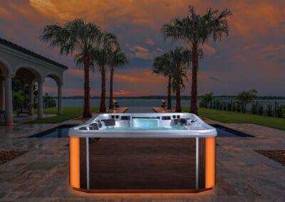 Elite Hot Tub Clean Water